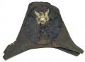 WONDERFUL, ORIGINAL CONDITION NEW YORK MAKER MARKED CIRCA 1820-1830'S ARTILLERY OR RIFLE OFFICER'S CHAPEAU DE BRAS