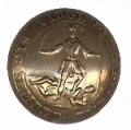 VIRGINIA STATE SEAL COAT BUTTON
