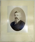IDENTIFIED ALBUMEN PHOTOGRAPH - GEORGE A. MARSDEN, 1ST & 2ND US SHARPSHOOTERS