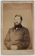 ID'D CDV - CAPT. WILLIAM L. MALLORY, SHERIDAN'S CHIEF OF COMMISSARY