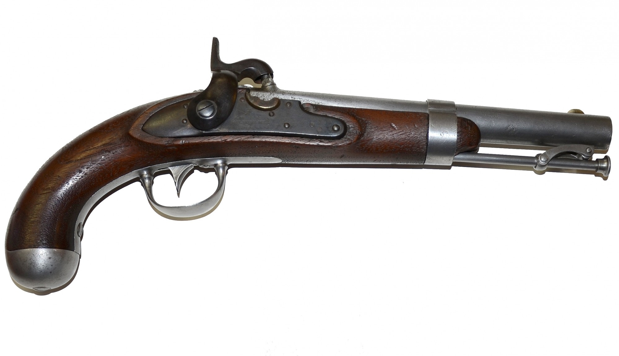 'A. WATERS' ALTERATION SINGLE SHOT PERCUSSION PISTOL