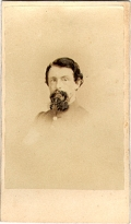CDV BUST VIEW UNION OFFICER - BOSTON BM