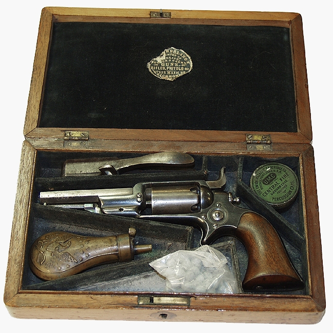"CASED COLT ""ROOT"" REVOLVER WITH ACCOUTREMENTS"