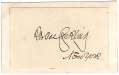 SIGNATURE - ROSCOE CONKLING, US REPRESENTATIVE & SENATOR FROM NEW YORK