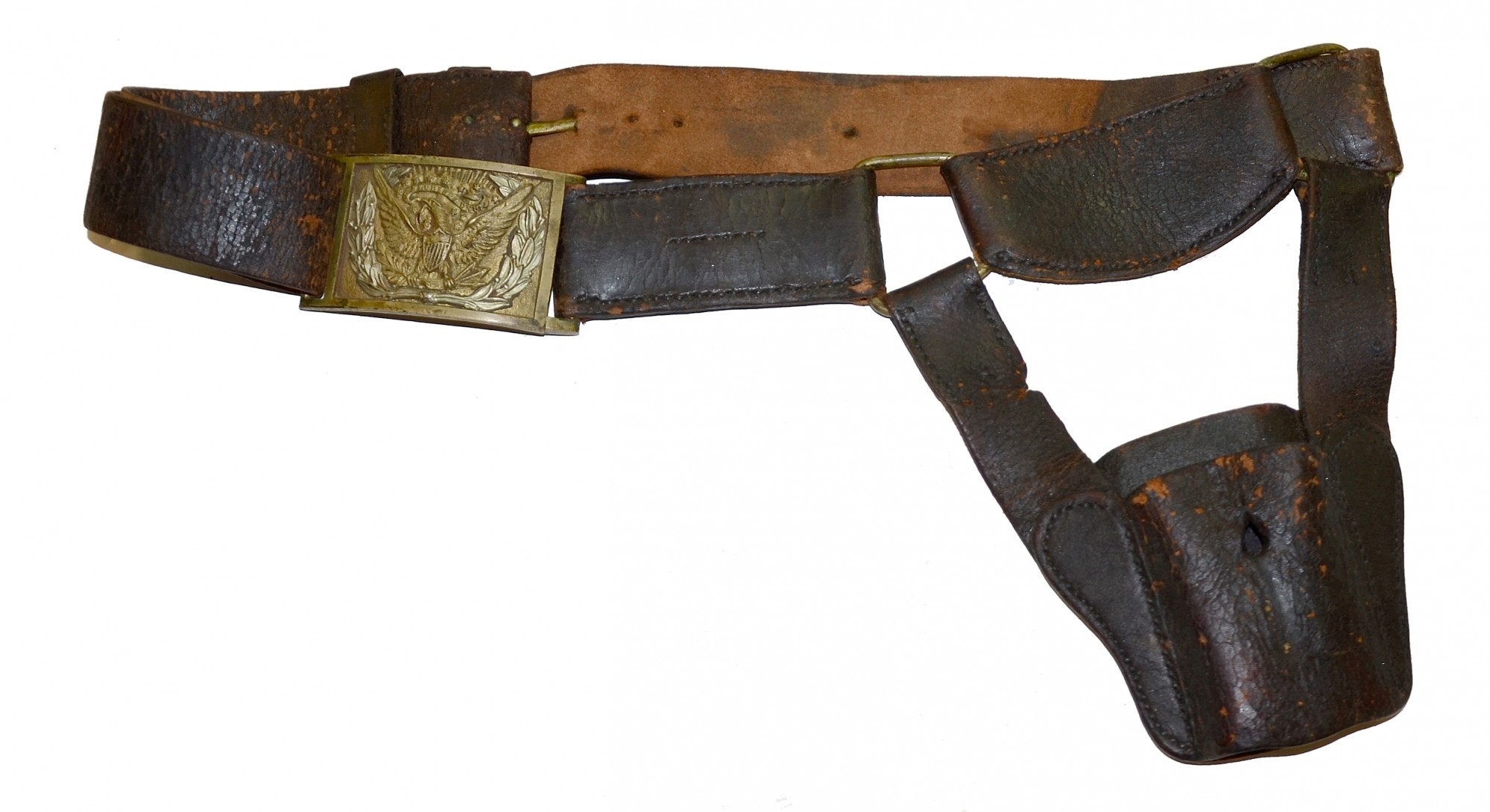U S Model 1851 Short Sword Artillery Belt Horse Soldier