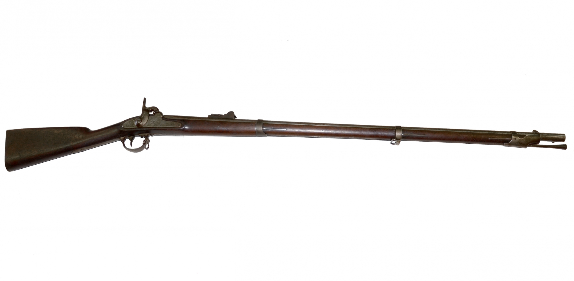 U.S. MODEL 1842 HARPERS FERRY RIFLED MUSKET
