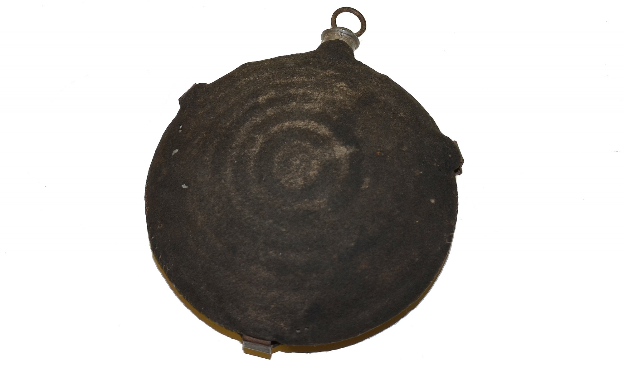"US ""BULLSEYE"" CANTEEN WITH DARK BLUE COVER"