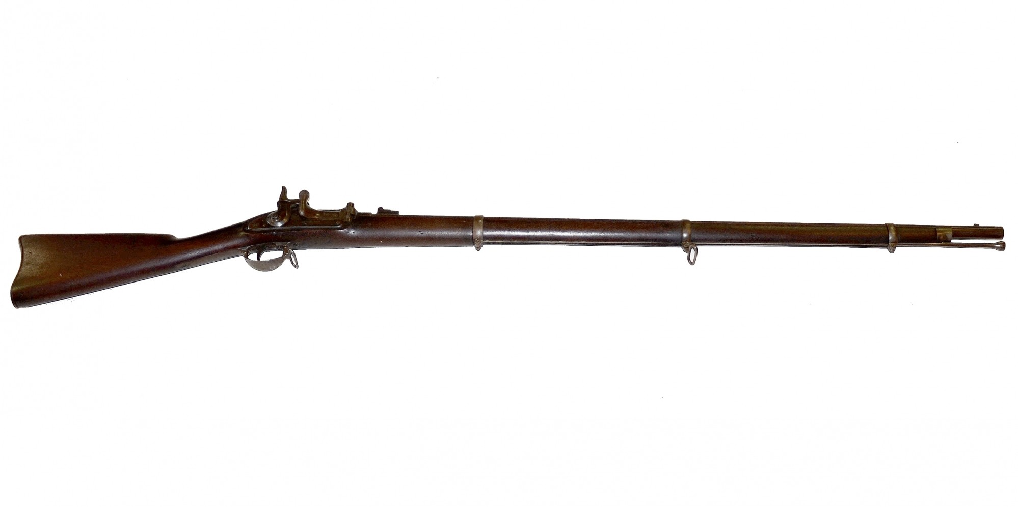M1863 BRIDESBURG CONTRACT RIFLE-MUSKET WITH THE NEEDHAM CONVERSION TO A BREECHLOADING SYSTEM