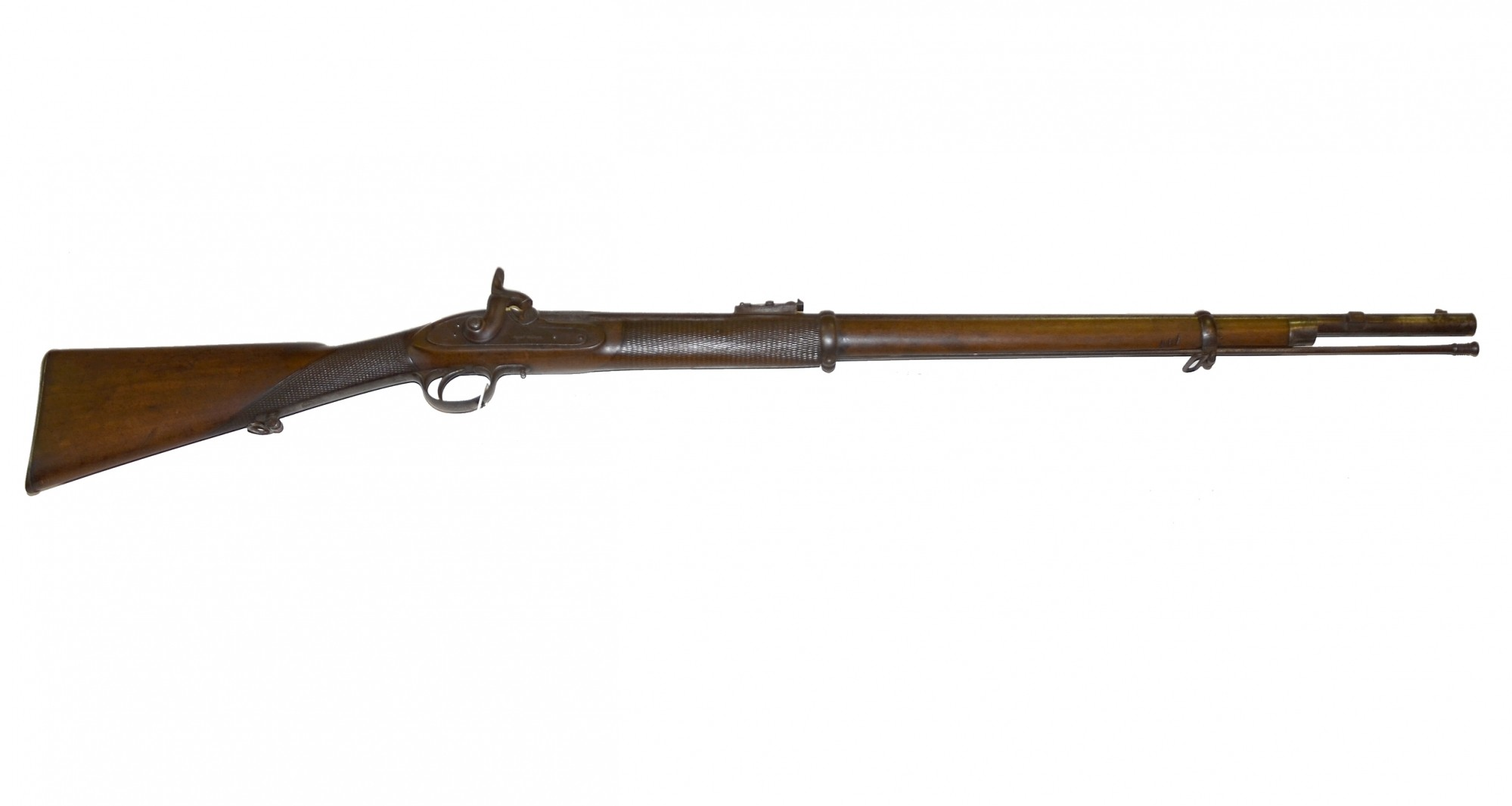 VERY GOOD CONDITION, BRITISH 1856 PATTERN ENFIELD 'VOLUNTEER' RIFLE BY GUNSMITH ALEXANDER HENRY