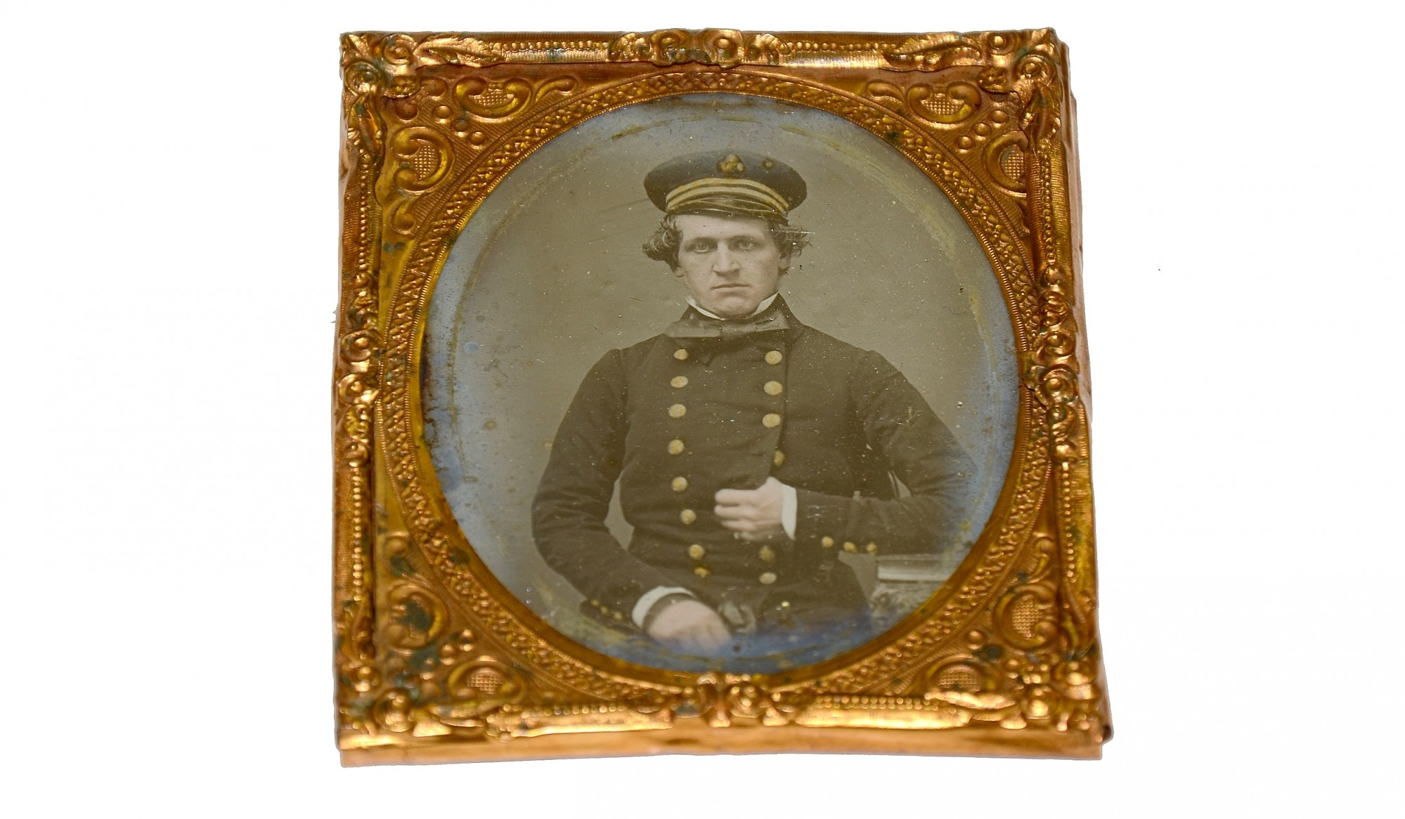 SIXTH PLATE DAGUERREOTYPE OF AN ENGLISH OFFICER