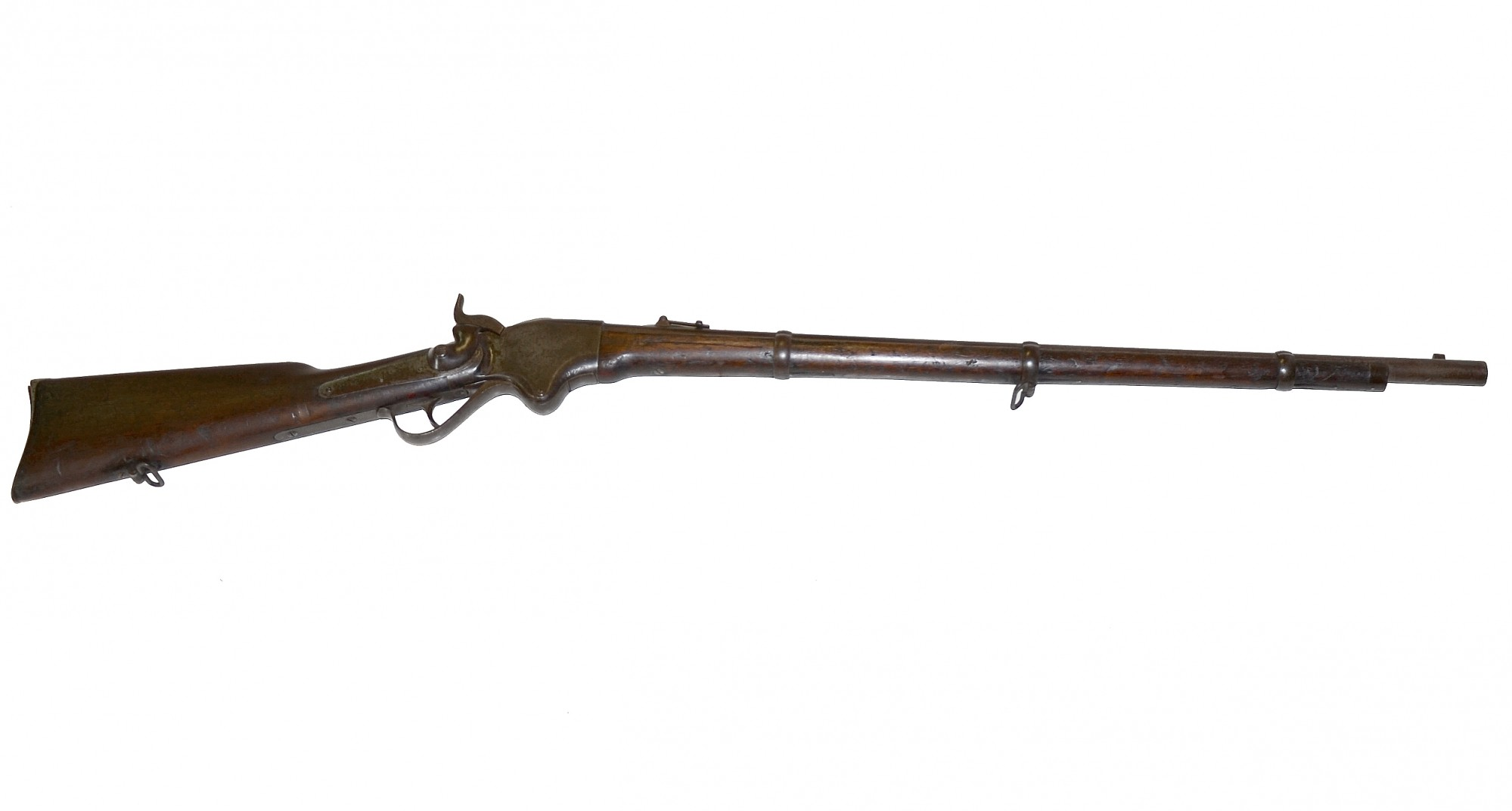 M1860 SPENCER RIFLE THAT BELONGED TO ROBERT MEEK, 5TH INDEPENDENT COMPANY, OHIO SHARPSHOOTERS