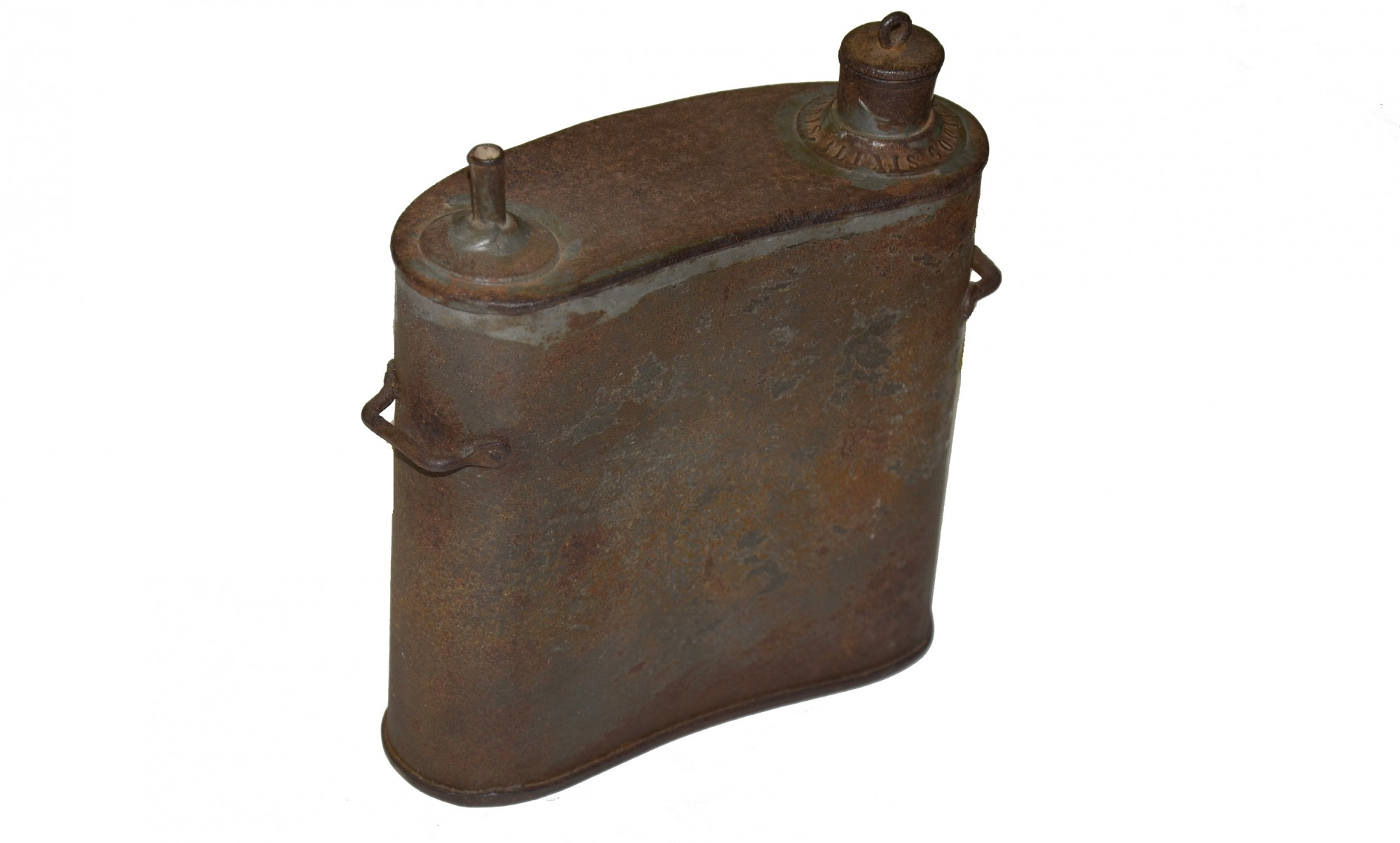 IMPORTED FRENCH DUAL SPOUT CANTEEN