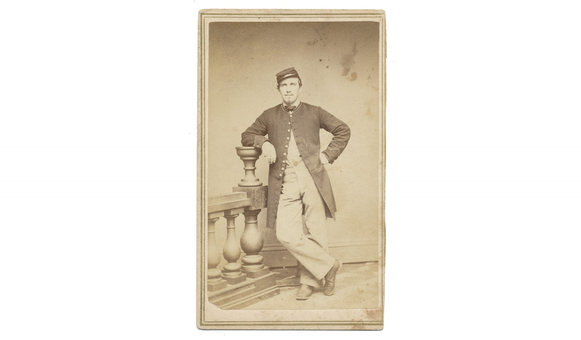 CDV OF 11TH NEW HAMPSHIRE SOLDIER