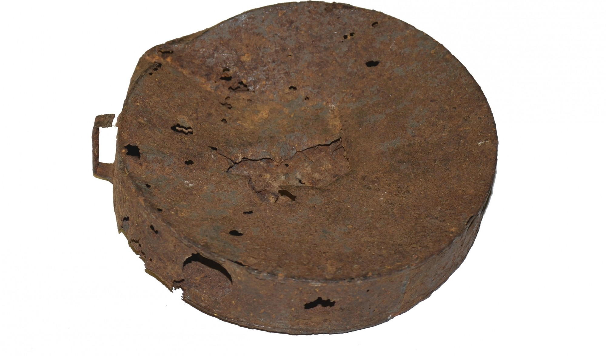 POSSIBLE STRUCK RELIC CANTEEN FROM PETERSBURG