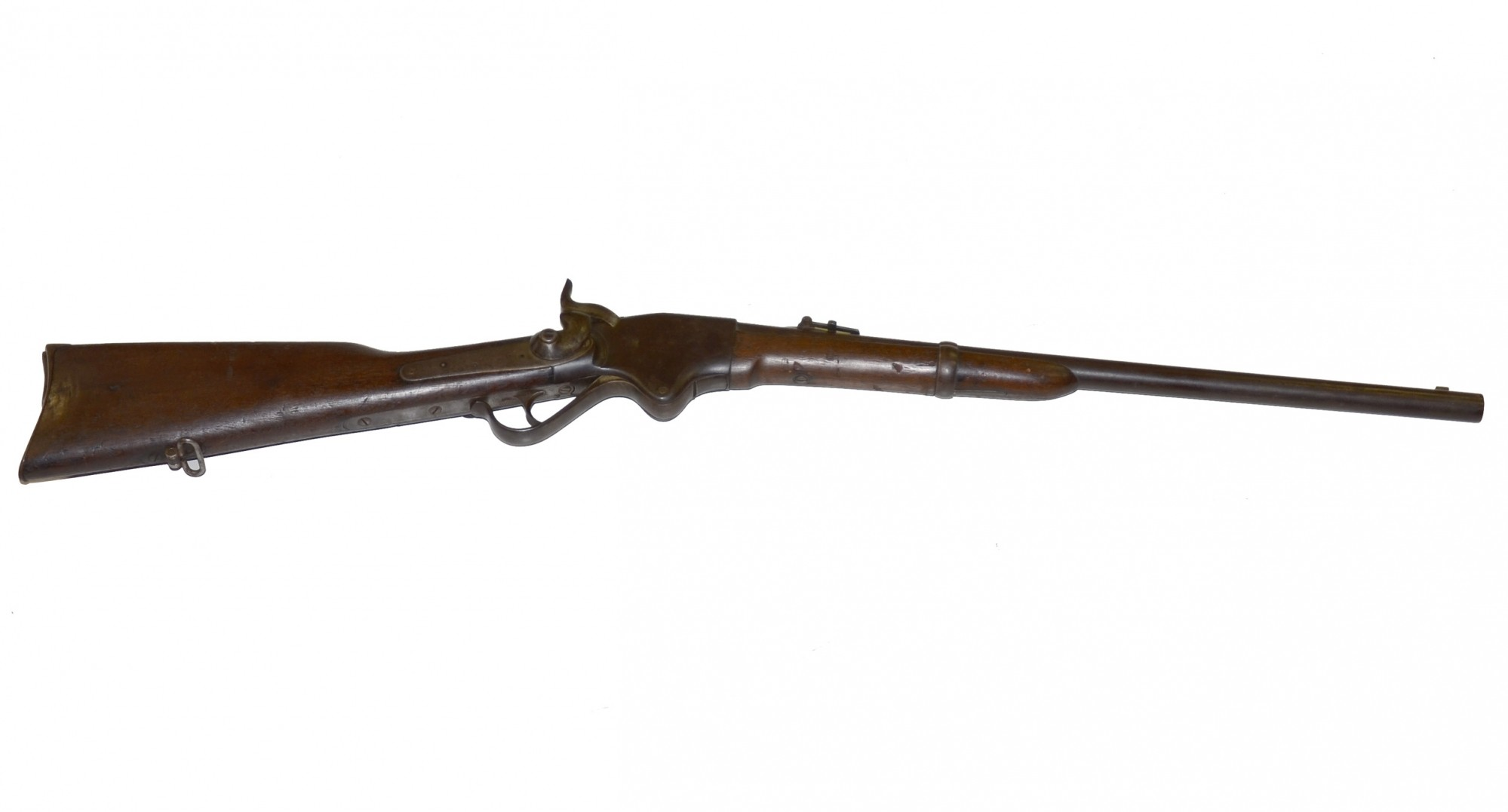 M1860 SPENCER CIVIL WAR CARBINE ALTERED POST-WAR BY THE SPRINGFIELD ARMORY