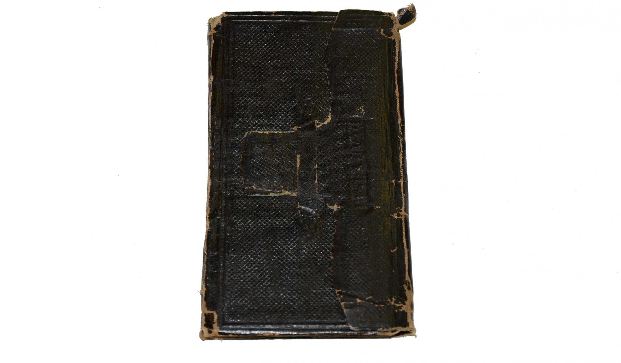 1861 DIARY KEPT BY AN UNIDENTIFIED ILLINOIS PREACHER