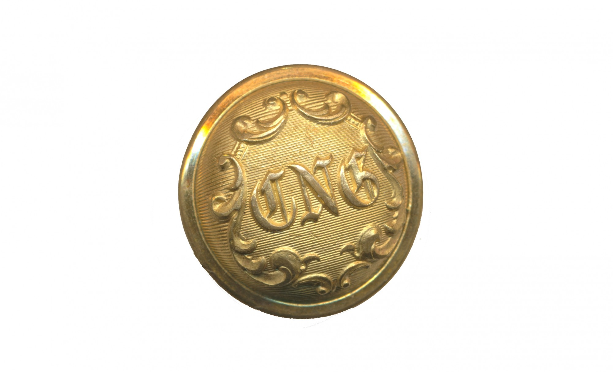 CONNECTICUT NATIONAL GUARD STAFF COAT BUTTON