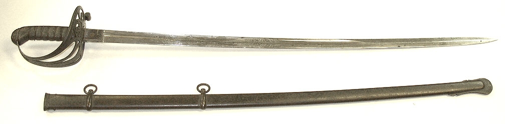 IMPORTED M1850 STAFF AND FIELD SWORD WITH SCABBARD