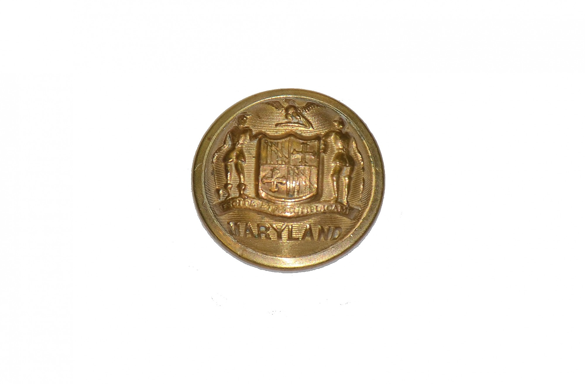 MARYLAND MILITIA STAFF OFFICER'S COAT BUTTON