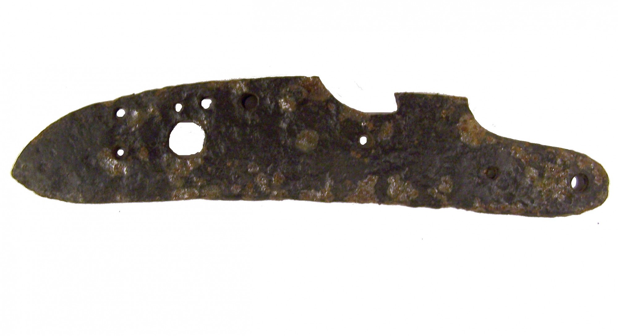 MUSKET LOCKPLATE RECOVERED FROM PORT GIBSON, MISSISSIPPI