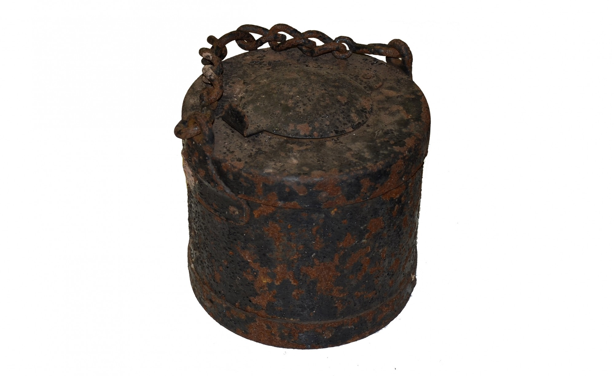US ARTILLERY GREASE BUCKET FROM SPANGLER FARM AT GETTYSBURG