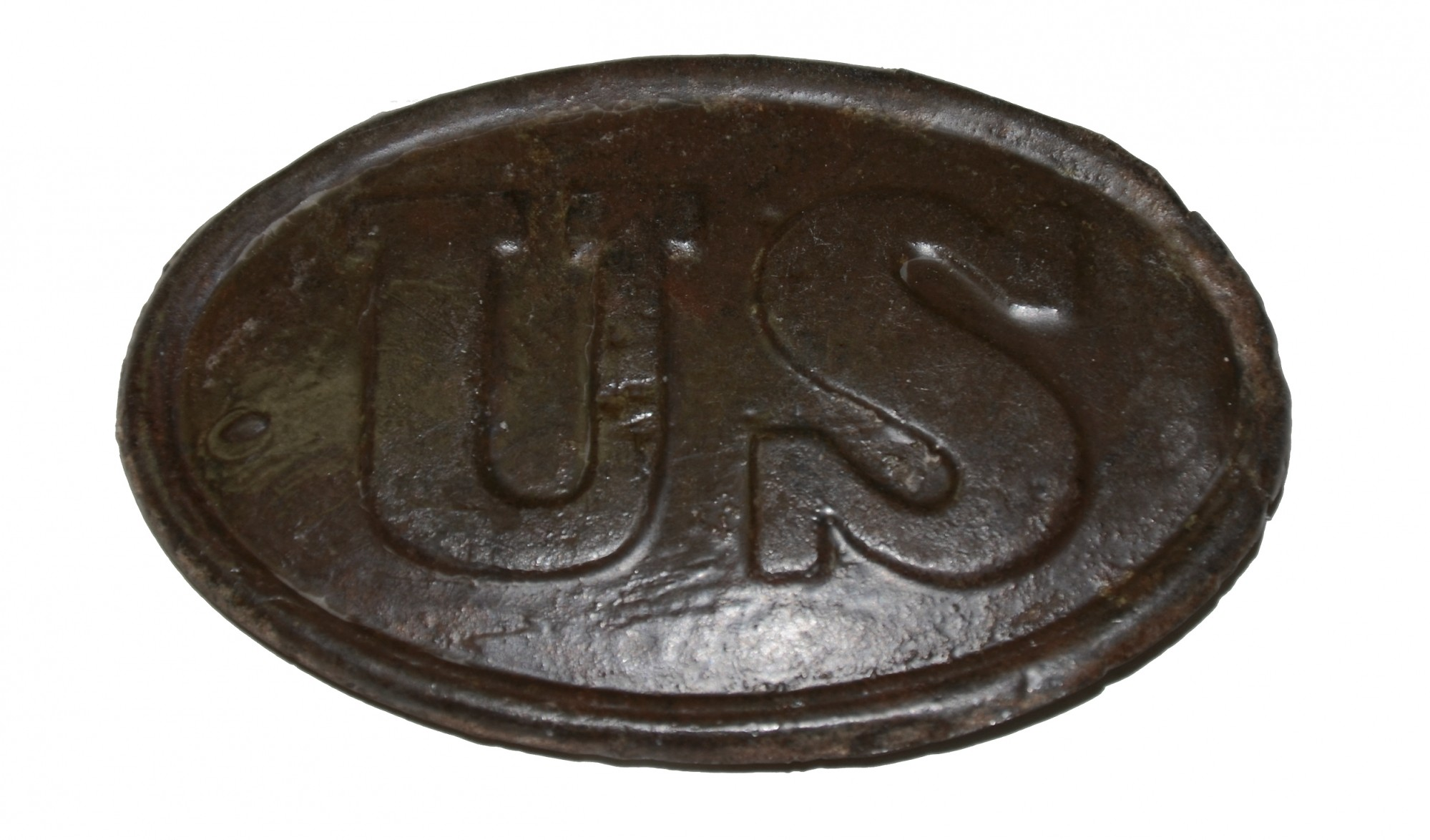 US PATTERN 1839 BELT PLATE FROM THE ROSENSTEEL FAMILY COLLECTION