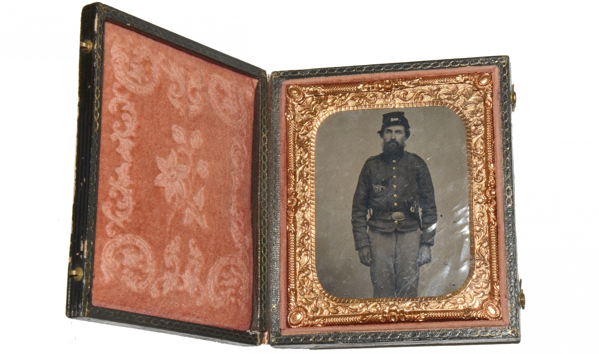 1/6 PLATE TINTYPE – LOADED WITH REVOLVERS!
