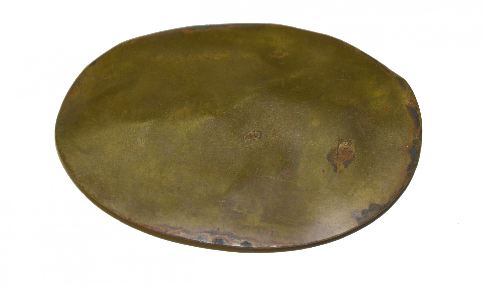 MILITIA CROSSBELT PLATE FROM THE GETTYSBURG ROSENSTEEL COLLECTION