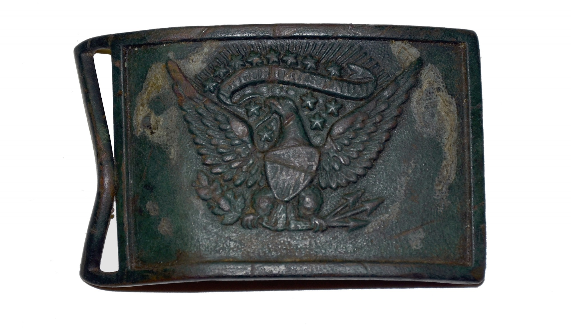 PATTERN 1851 EAGLE SWORD PLATE FROM MANASSAS