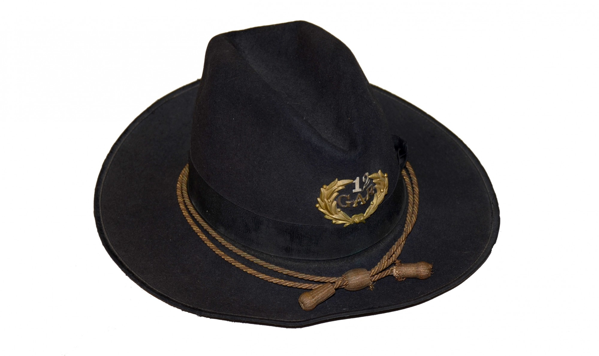 G.A. R. CAMPAIGN HAT, CA. 1910-1920