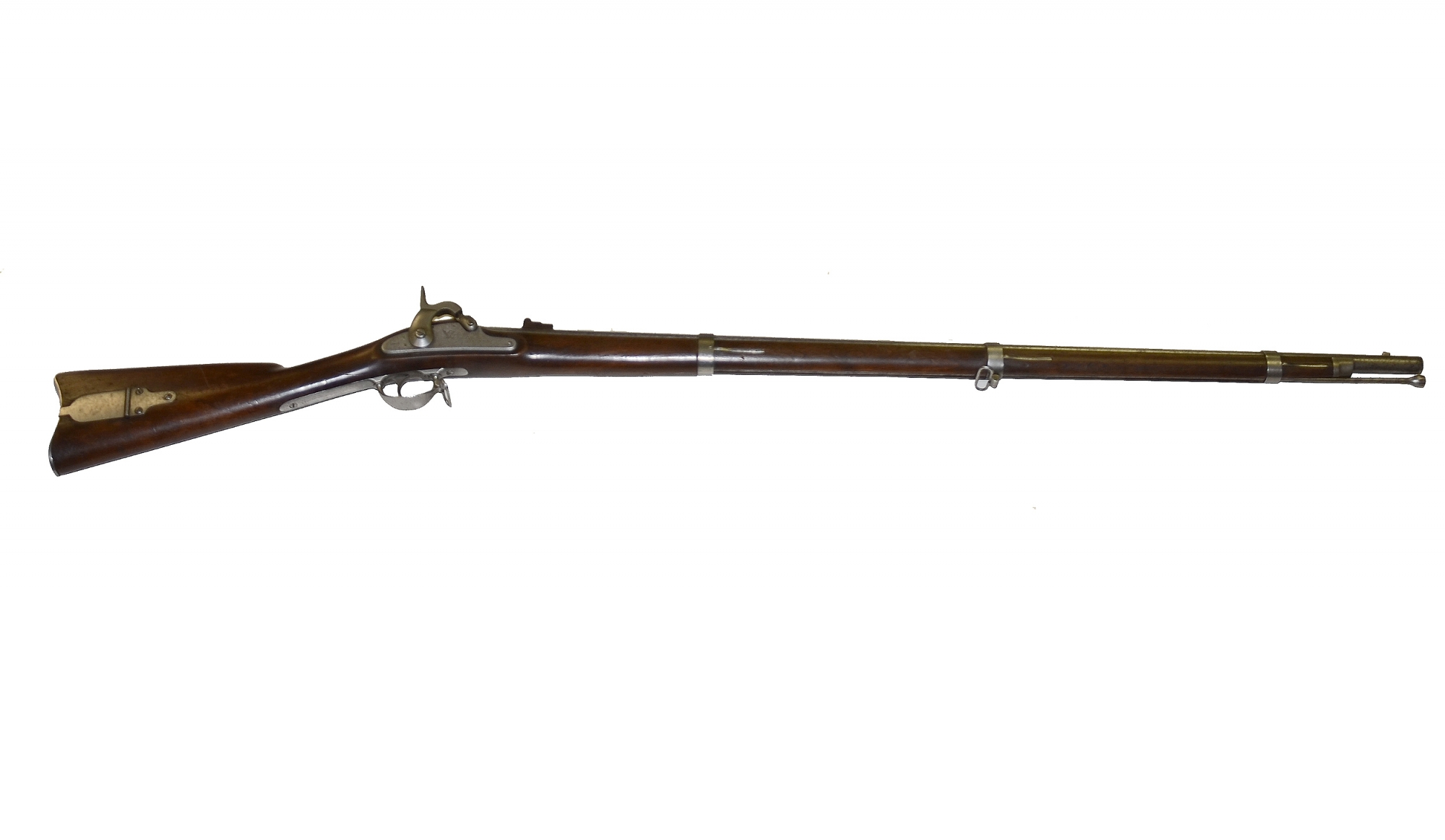 M1861 U.S. SPRINGFIELD RIFLE MUSKET DATED 1862