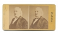 POST-WAR STEREO VIEW OF HORACE GREELEY