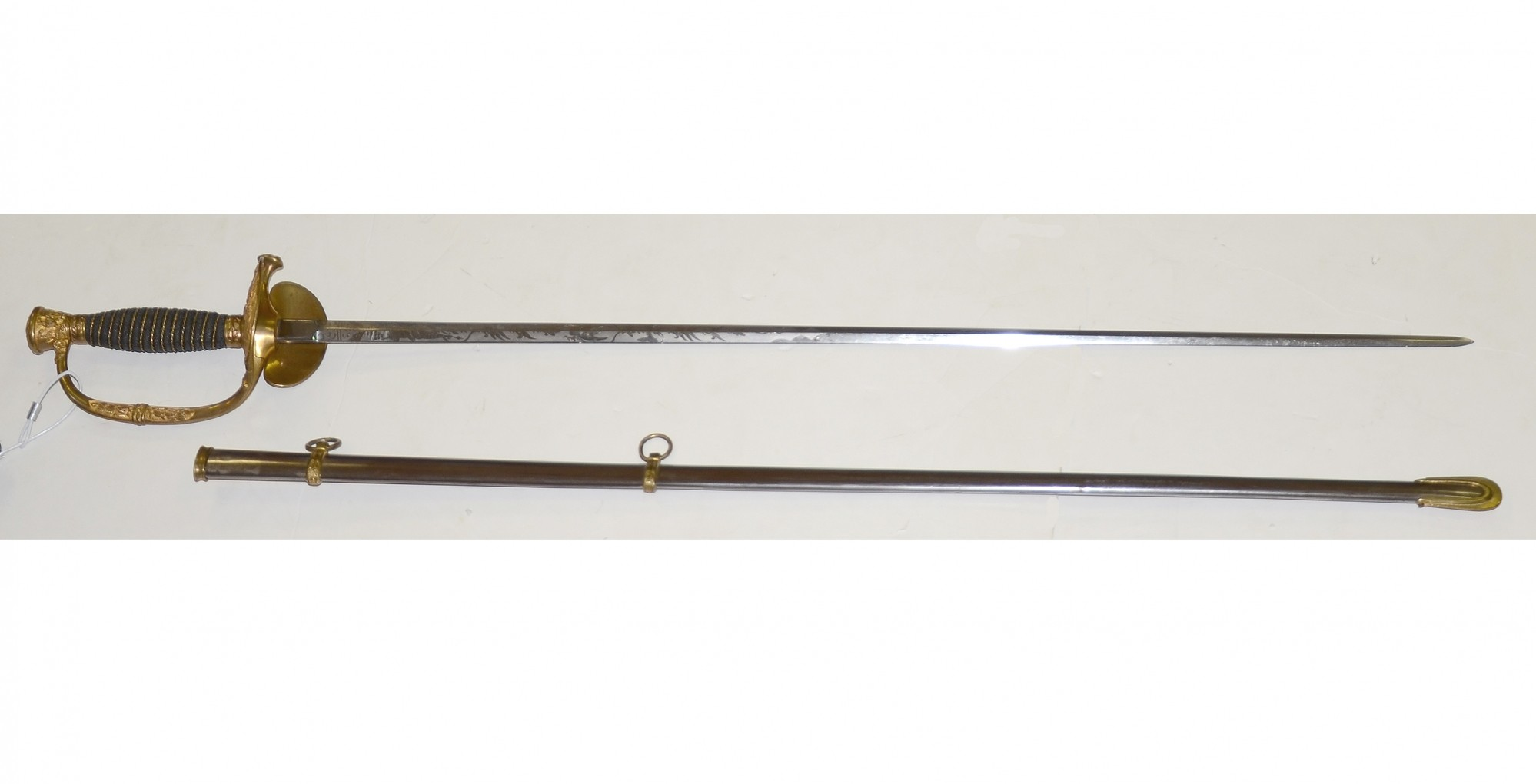 PRESENTATION AMES MODEL 1860 STAFF AND FIELD SWORD