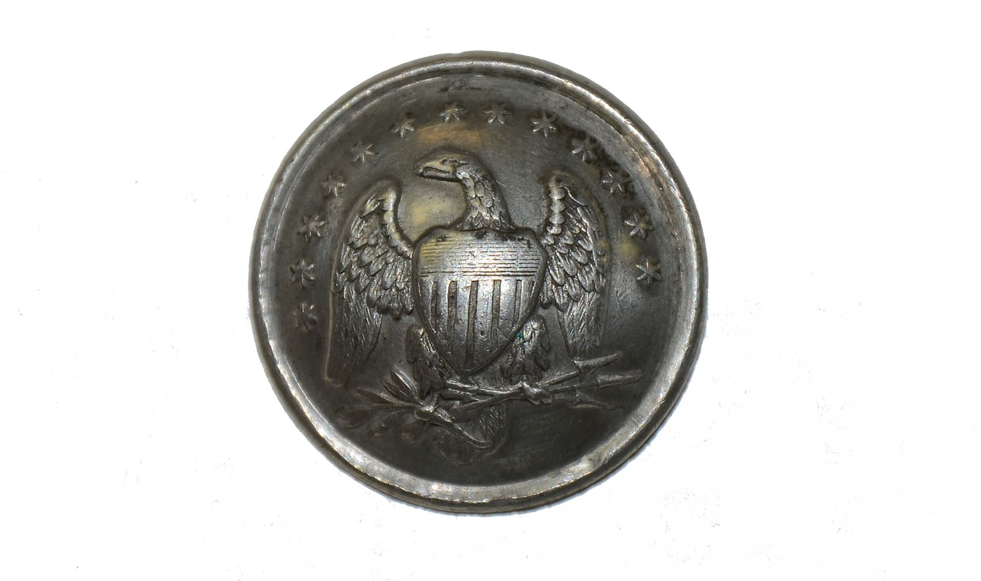 NICE CONDITION CHASSEUR BUTTON