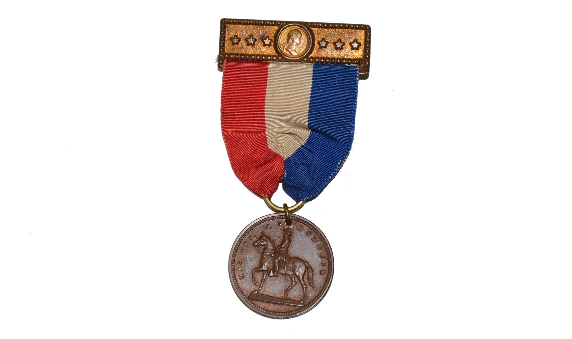 1896 MEDAL FOR GENERAL HANCOCK'S STATUE IN WASHINGTON, D.C.