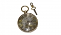 VERY FINE, OPEN-FACE STYLE ENGLISH GOLD POCKET WATCH