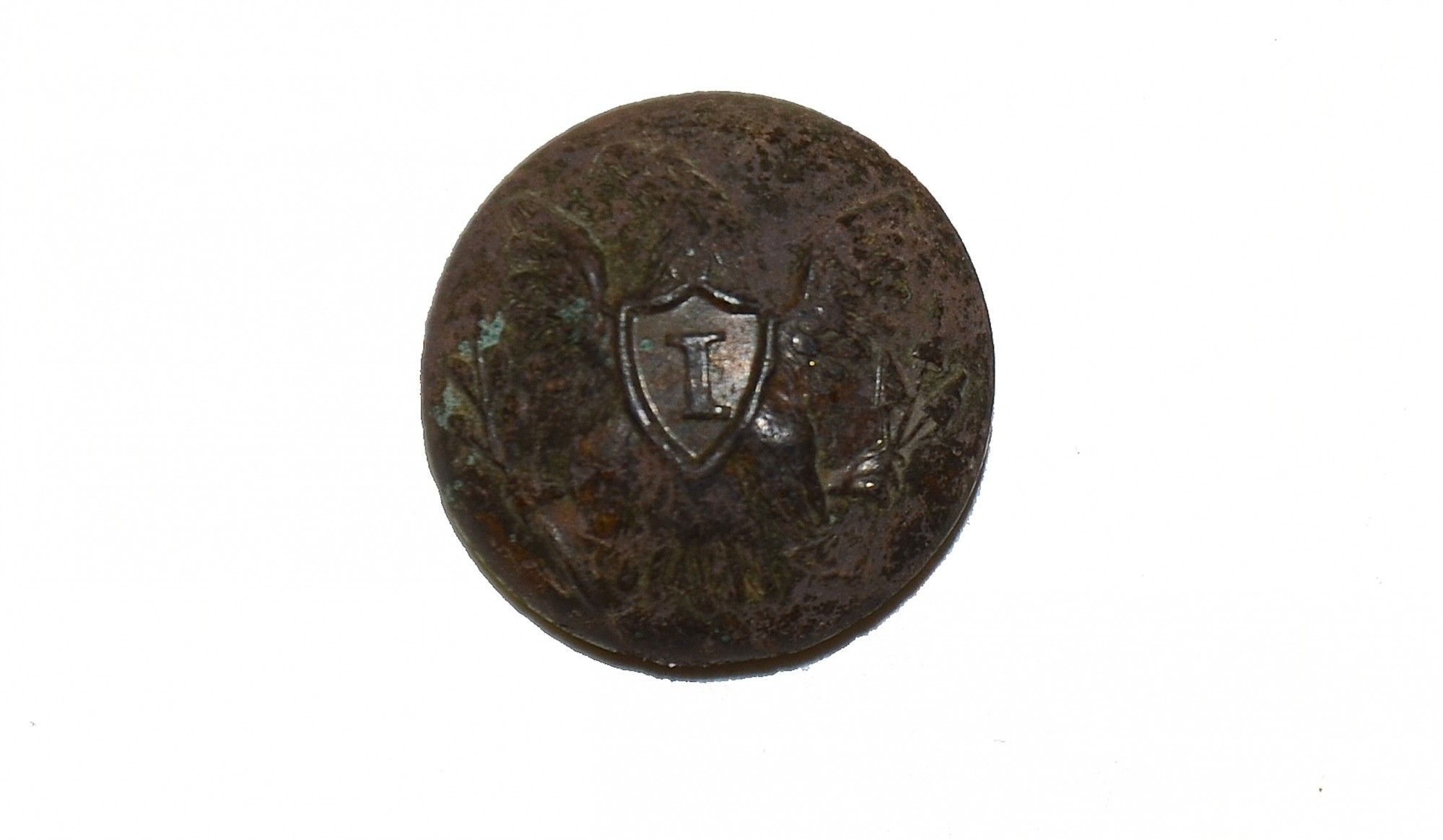 UNION OFFICER'S EAGLE I CUFF BUTTON