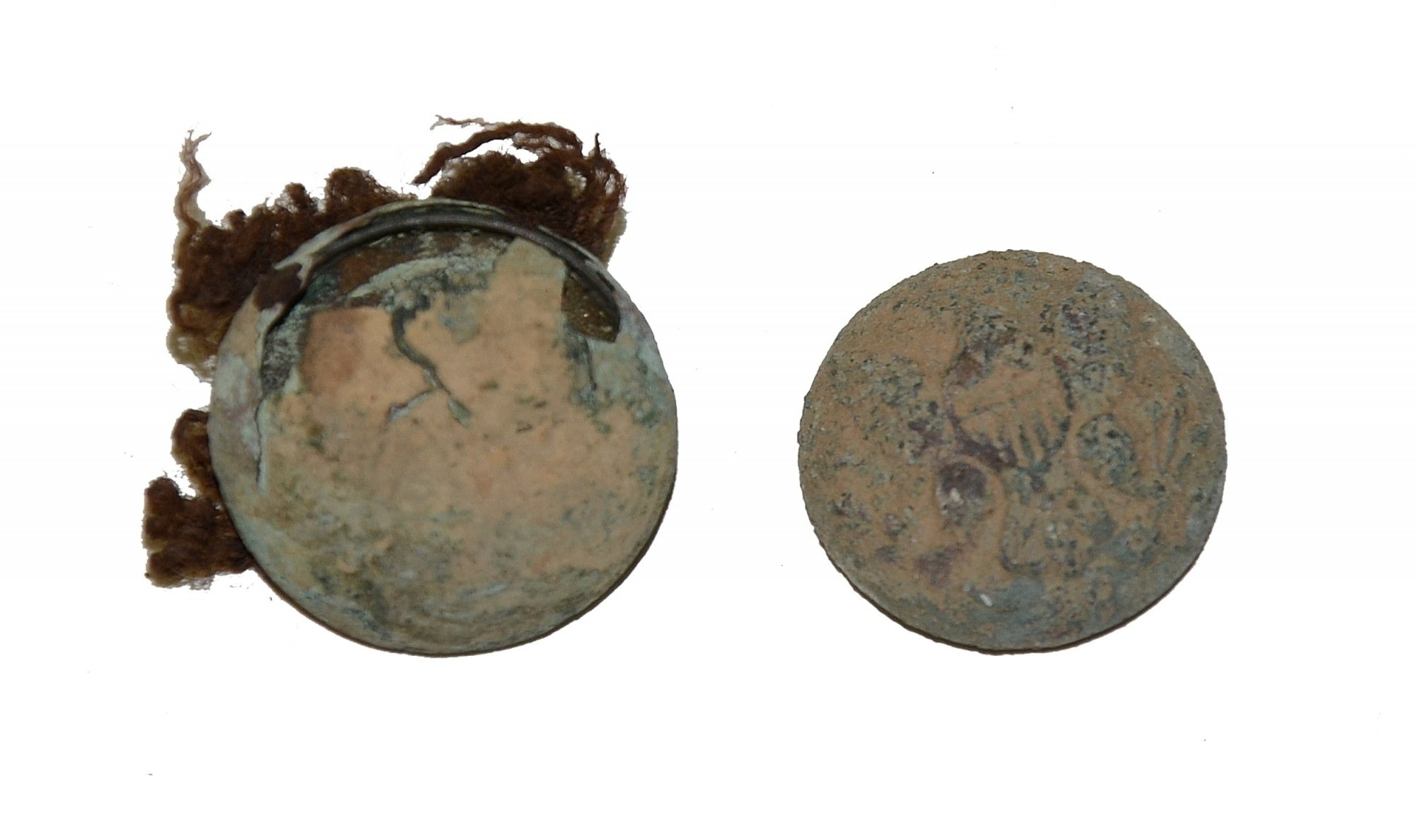PAIR OF UNION ENLISTED EAGLE BUTTONS - GETTYSBURG