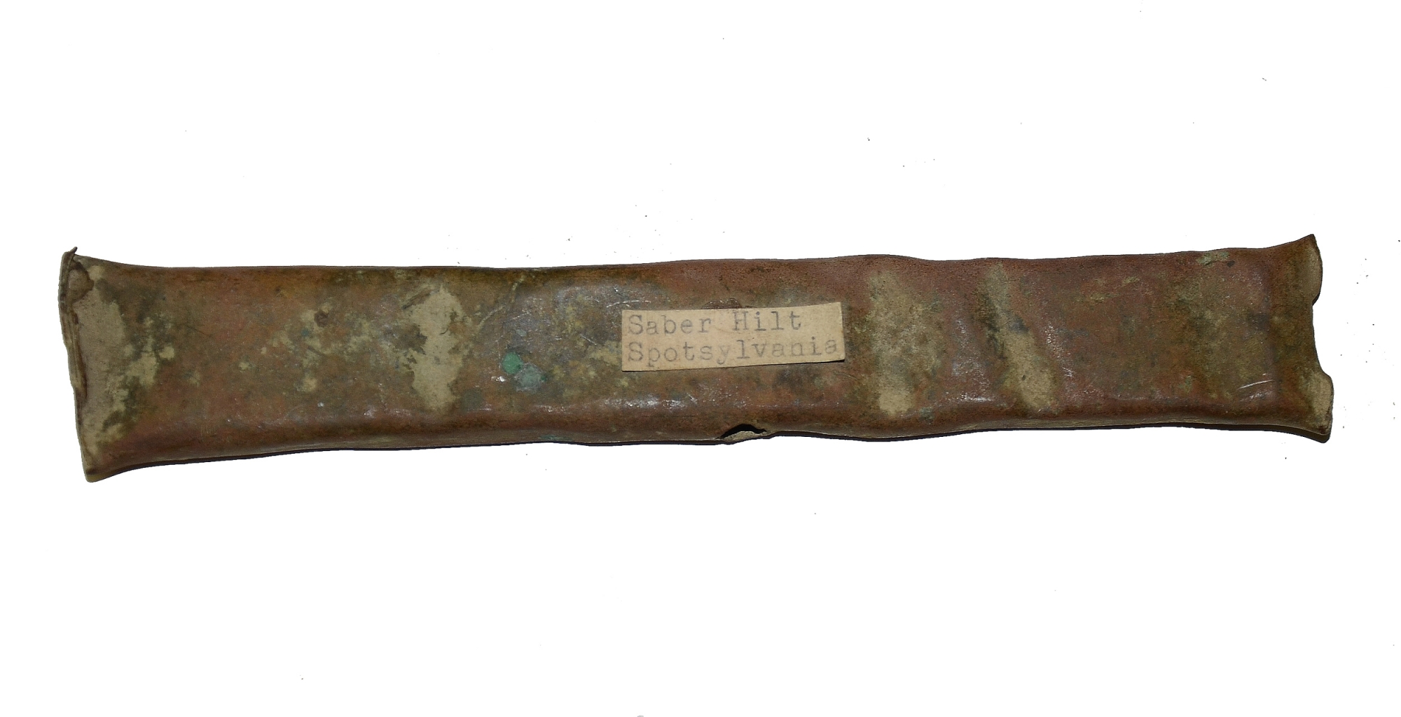 SECTION OF SWORD SCABBARD FROM SPOTSYLVANIA