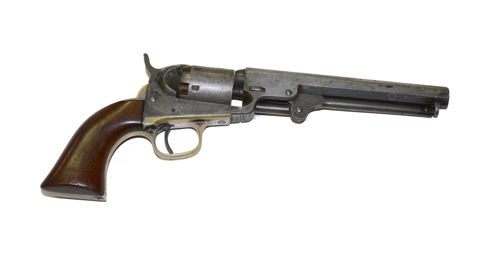 IDENTIFIED M1849 COLT POCKET REVOLVER WITH ALL MATCHING NUMBERS