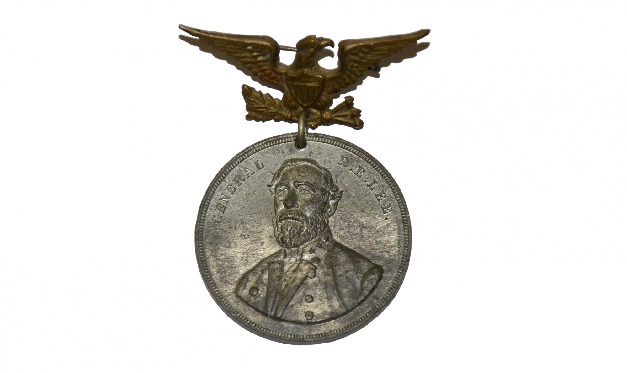 1887 BADGE FOR GENERAL LEE'S RICHMOND MONUMENT