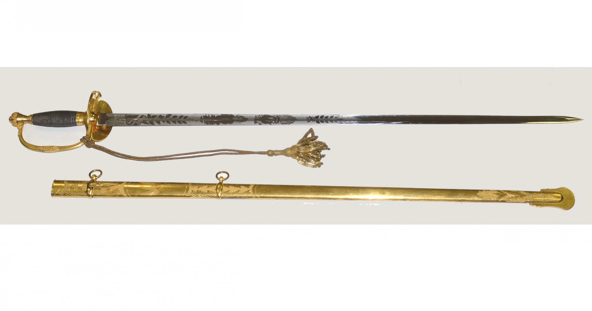 THE FINEST M1840 GENERAL OFFICER'S SWORD KNOWN TO EXIST! IDENTIFIED TO MILITIA OFFICER FROM WEALTHY LONG ISLAND, NY FAMILY