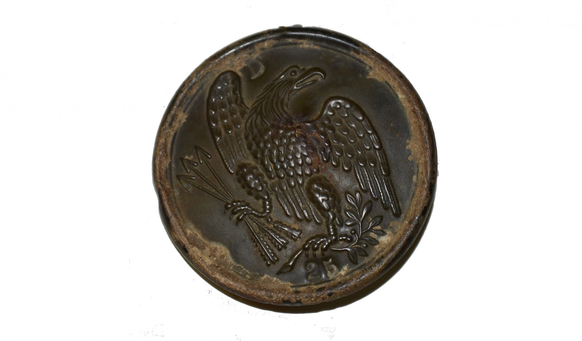 PATTERN 1826 EAGLE BREAST PLATE WITH MARKINGS