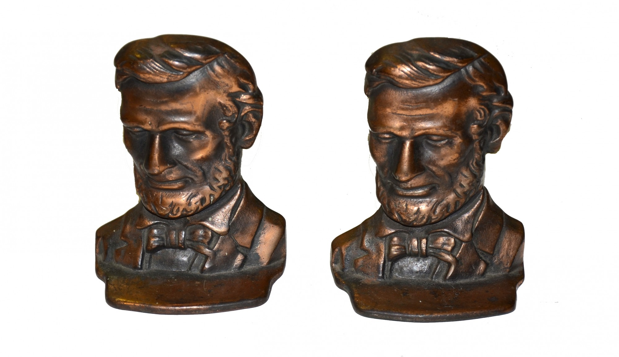 ABRAHAM LINCOLN BOOK ENDS