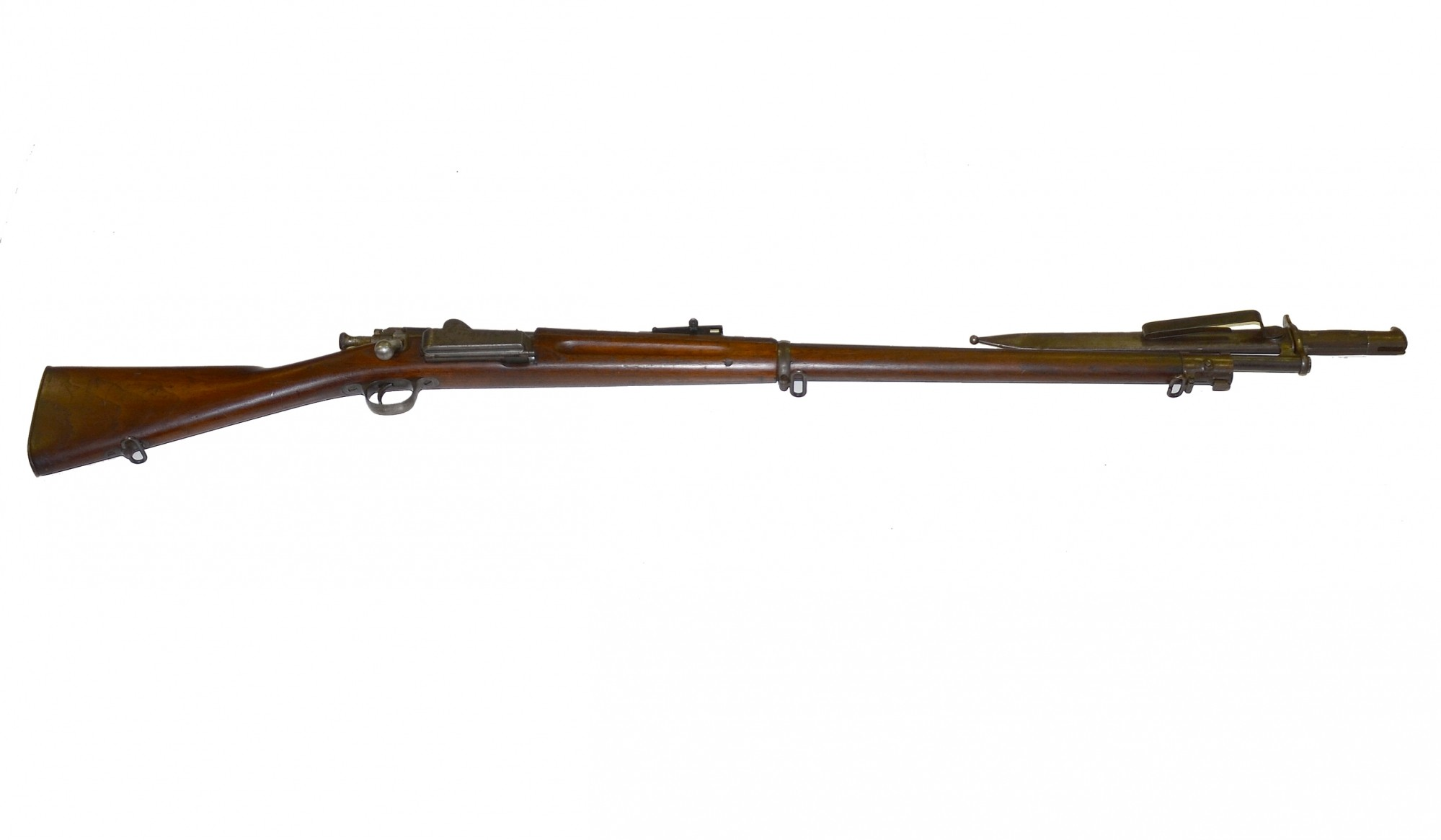 MODEL 1896 SPRINGFIELD KRAG RIFLE WITH BAYONET