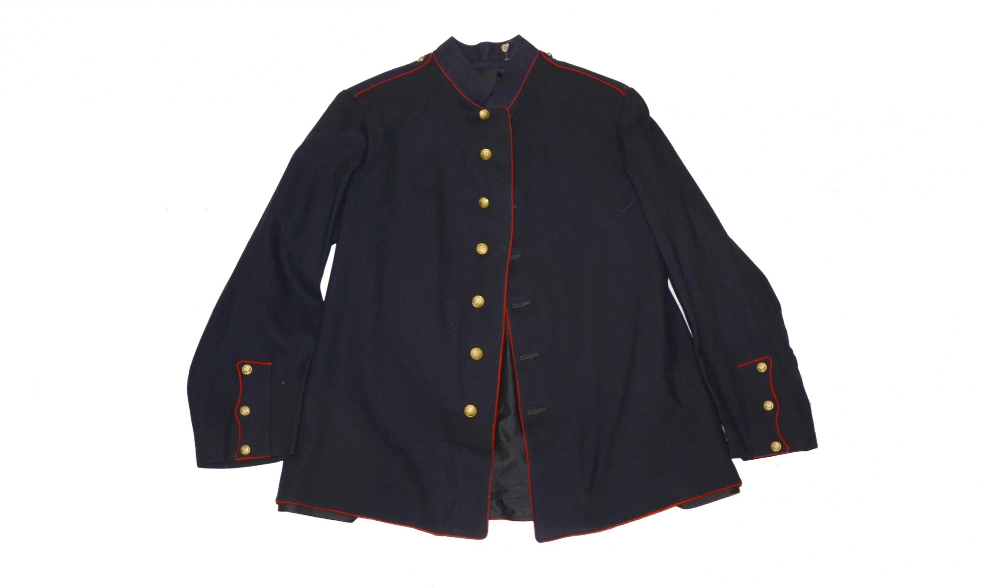 SPANISH AMERICAN WAR MARINE CORPS DRESS BLUE BLOUSE & TROUSERS