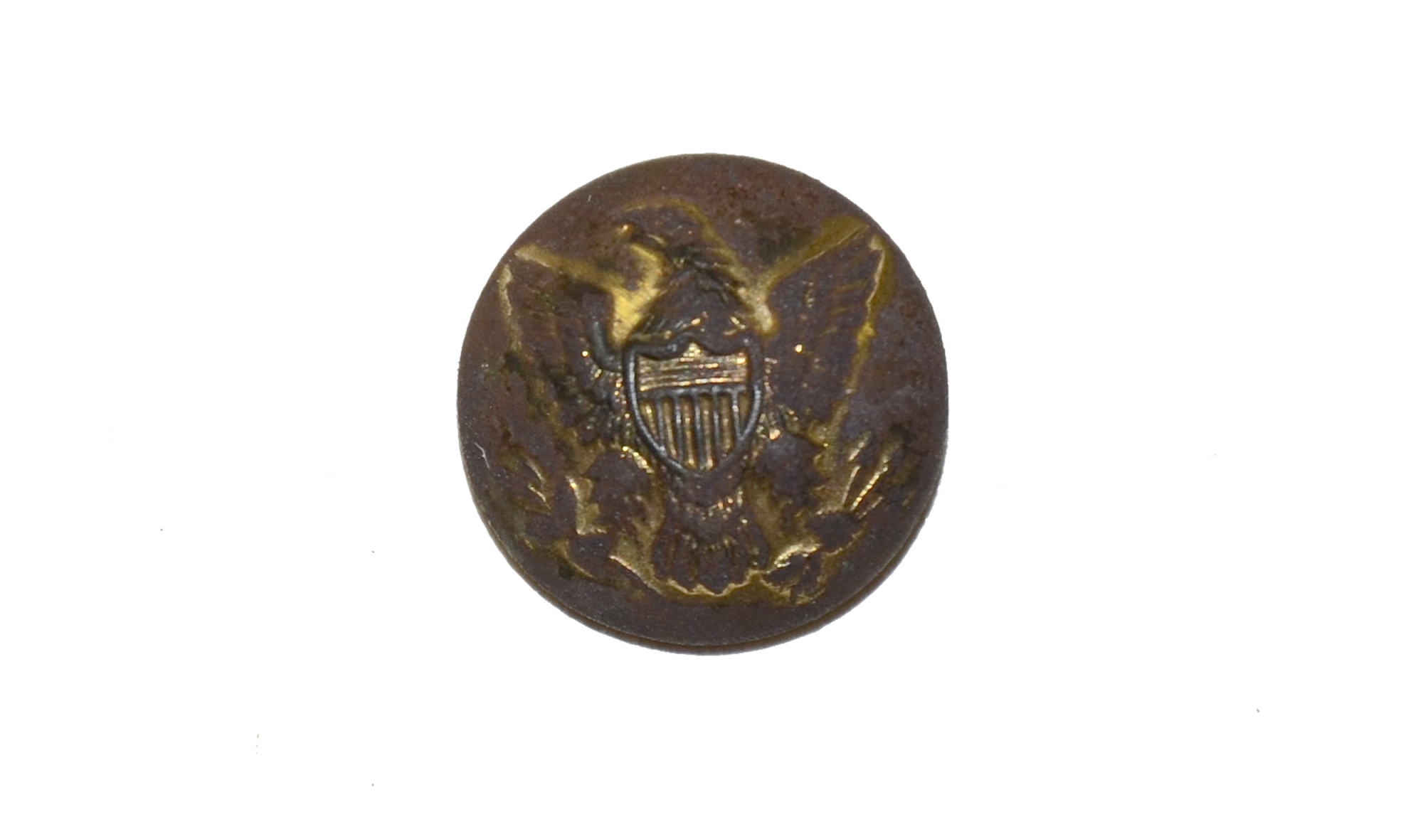U.S. ENLISTED MAN'S CUFF BUTTON FROM THE GETTYSBURG ROSENSTEEL COLLECTION