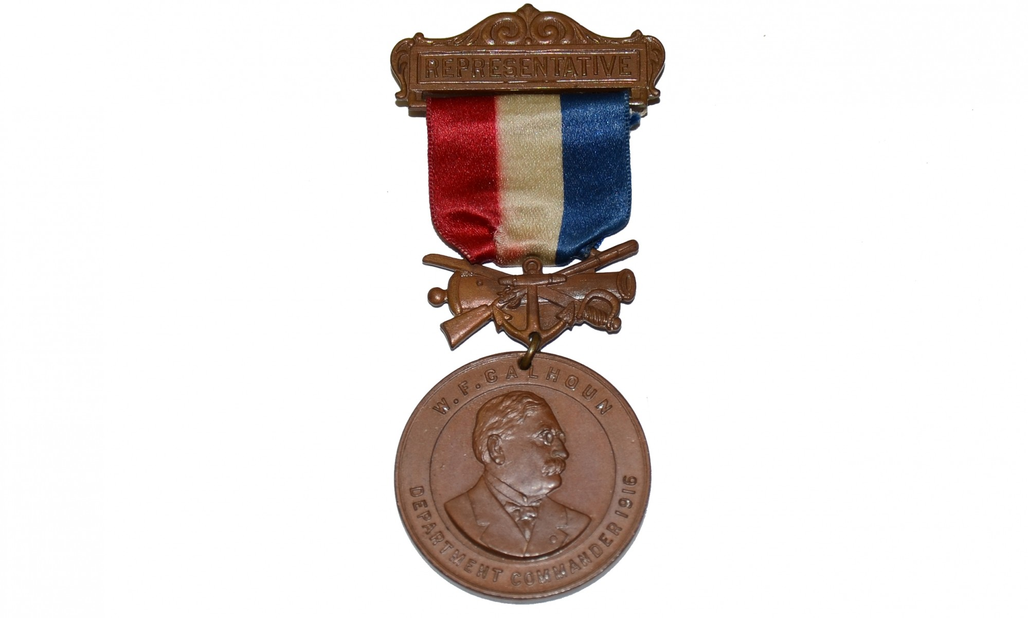 1917 DEPARTMENT OF ILLINOIS GAR MEDAL