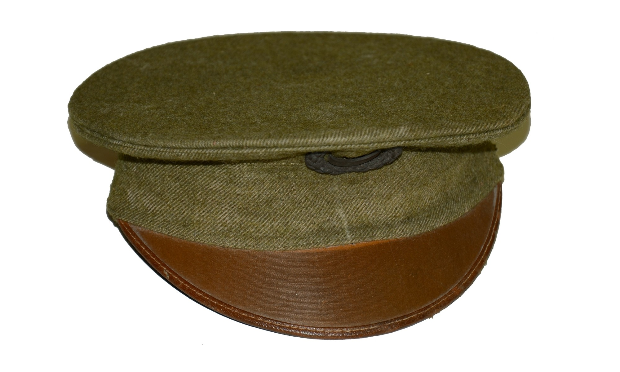 US MODEL 1910 ENLISTED MAN'S VISOR CAP WITH 1905 INSIGNIA
