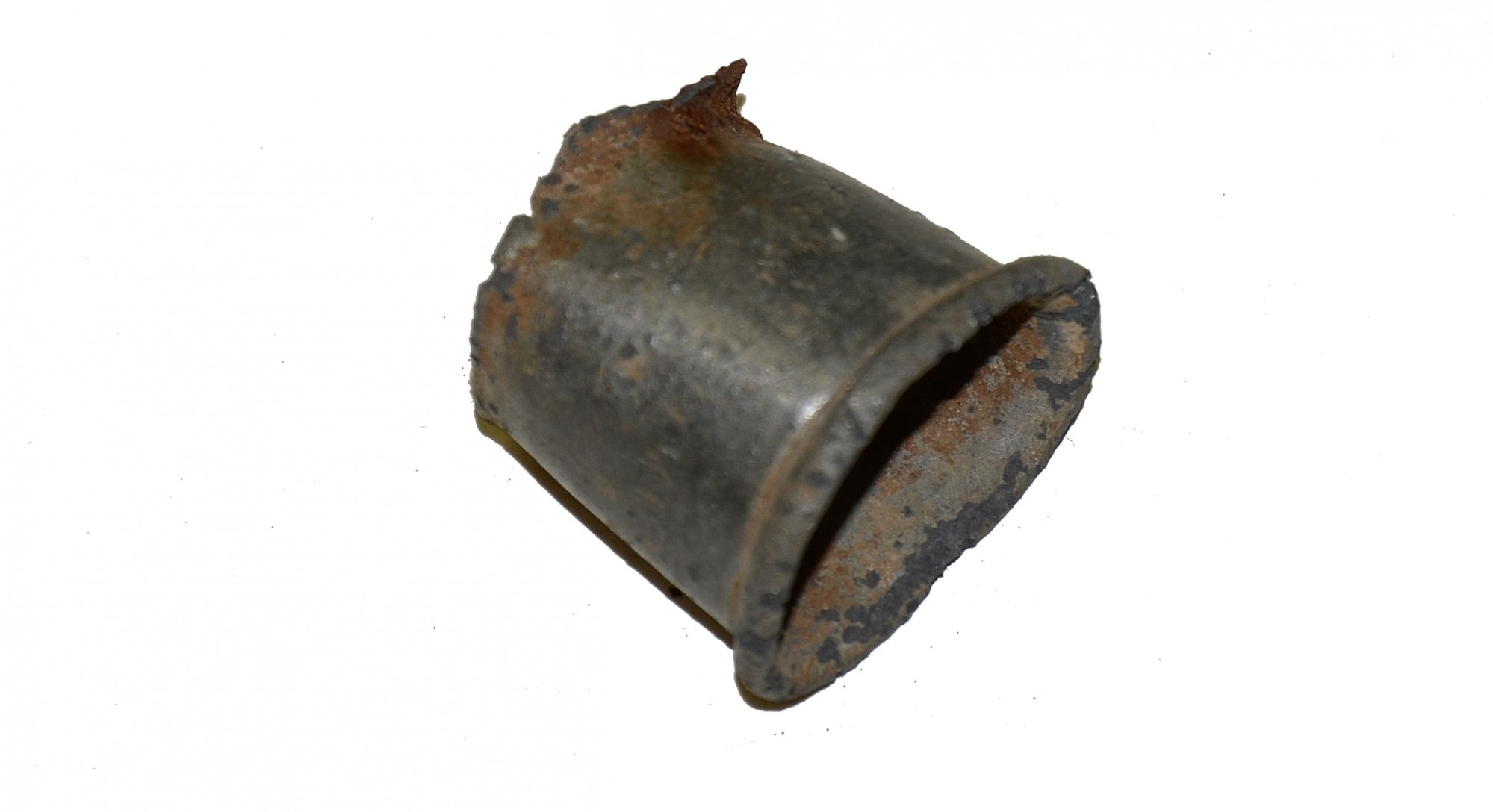 PEWTER CANTEEN SPOUT FROM COLD HARBOR
